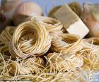 Pasta italiana, espaguetis
