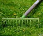 Rastrillo de jardinero