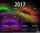 Calendario 2017, Feliz año