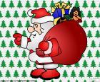 Papá Noel, dibujo
