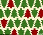 Fondo árboles de Navidad