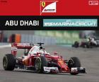 S Vettel, GP Abu Dhabi 2016