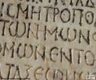 Escritura griega antigua