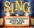 Cartel de Sing