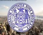 El sello de la ciudad de Nueva York fue adoptado en el año 1686