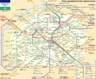 Mapa del Metro de París