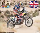 Sam Sunderland campeón en motos del Dakar 2017