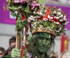 Hombre verde, Carnaval