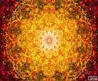 Puzzle de Mandala de flor de la vida