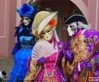 Disfraces clásicos venecianos