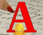 Letra rusa А