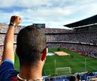 Puzzle de Camp Nou, Barcelona