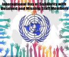 Día Internacional de Solidaridad con los miembros del personal detenidos o desaparecidos