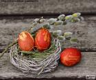 Un nido de Pascua