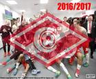 Spartak Moscú campeón 16-17