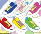 Zapatillas deportivas de colores