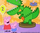 Peppa Pig y el dinosaurio