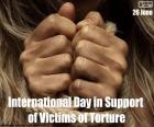 Día Internacional en Apoyo de las Víctimas de la Tortura