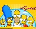 La familia Simpson completa
