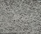 Pared de cemento en bruto