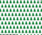 Papel de árboles de Navidad