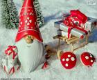 Papá Noel, adorno navideño