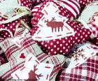 Adornos de Navidad, de tela