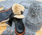 Botas negras de invierno