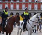 Policía Municipal a caballo, Madrid