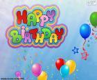 Happy Birthday, feliz cumpleaños