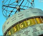 Reloj Mundial, Berlin, Alemania