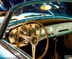 Tablero de un coche clásico