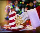 Santa Claus y dulces