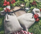Sacos de regalo de Navidad
