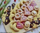 Surtido de galletas de Navidad