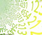 Espiral de números