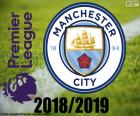 Puzzle de Manchester City, campeón 2018-19