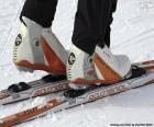 Puzzle de Material esquí de fondo