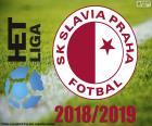 Puzzle de Slavia Praga, campeón 2018-2019