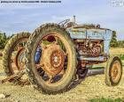 Viejo tractor