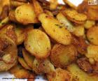 Patatas fritas en rodajas