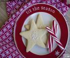 Galletas y bastones de Navidad