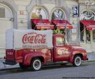 Camión antiguo de Coca-Cola