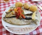 Plato de sardinas