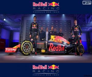 Puzzle de Red Bull Racing 2016