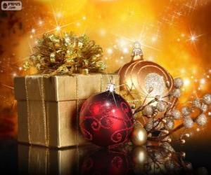Puzzle de Regalo de Navidad