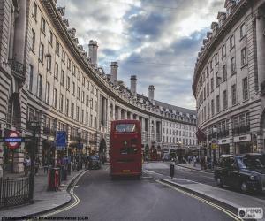 Puzzle de Regent Street, Londres