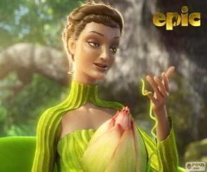 Puzzle de Reina Tara, la reina del bosque, la madre naturaleza