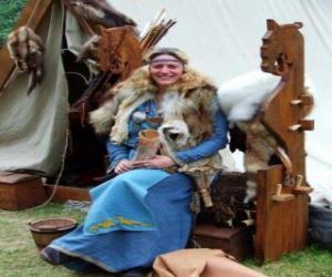 Puzzle de Reina vikinga