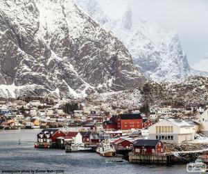 Puzzle de Reine, Noruega